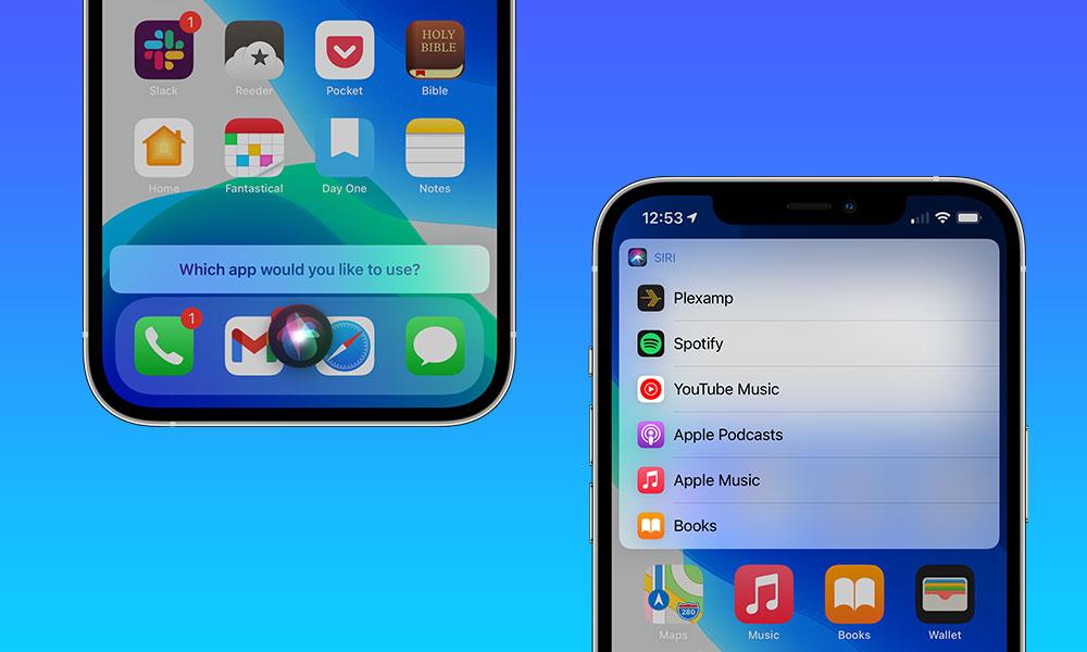 iOS 14.5 Siri pick default Music Player