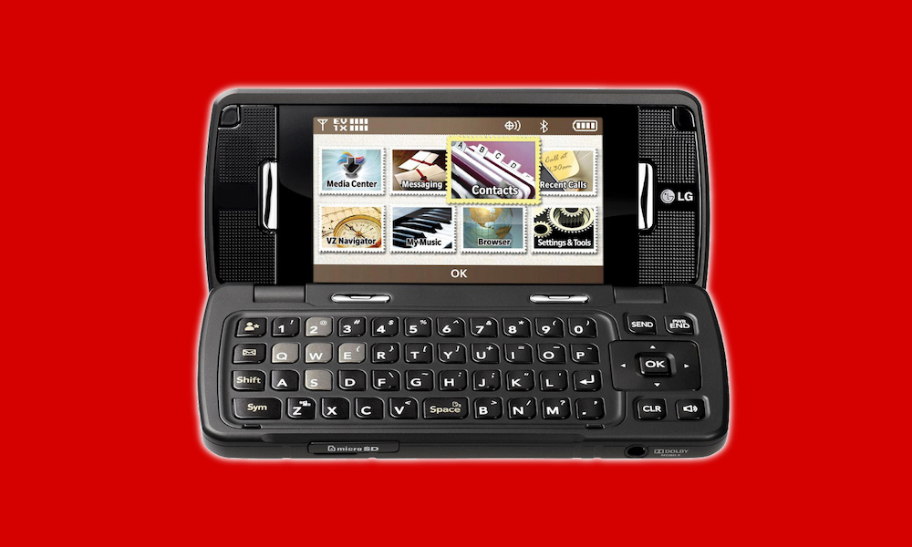 LG EnV Touch Verizon Phone