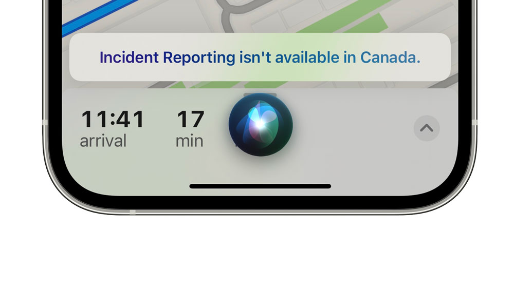 iOS 14.5 incident reporting not in Canada