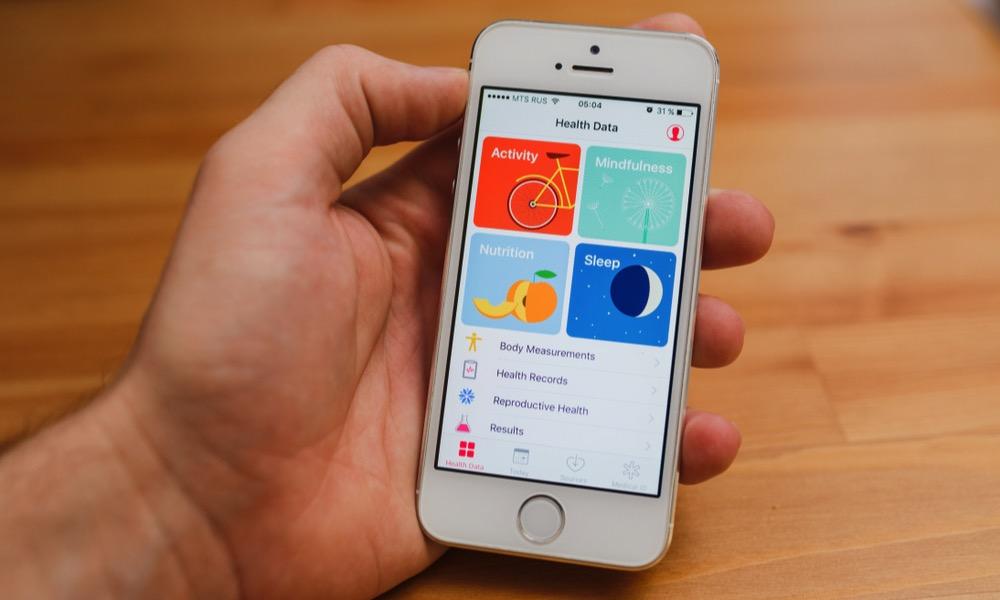 iPhone SE Health Data