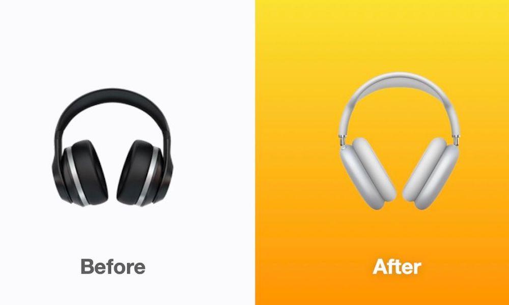 iOS 14.5 Emoji Headphones AirPods Max