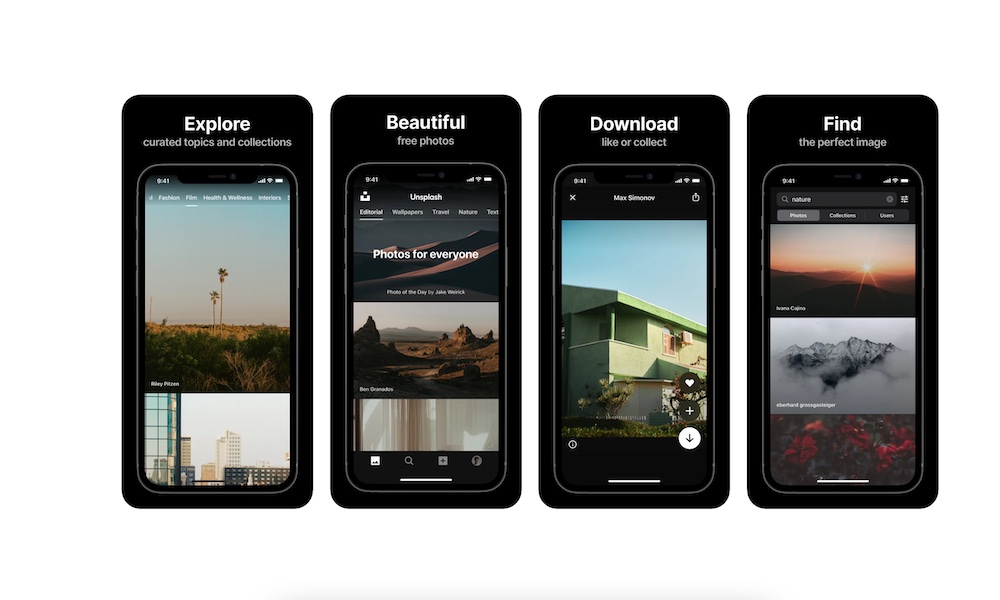 Unsplash for iPhone