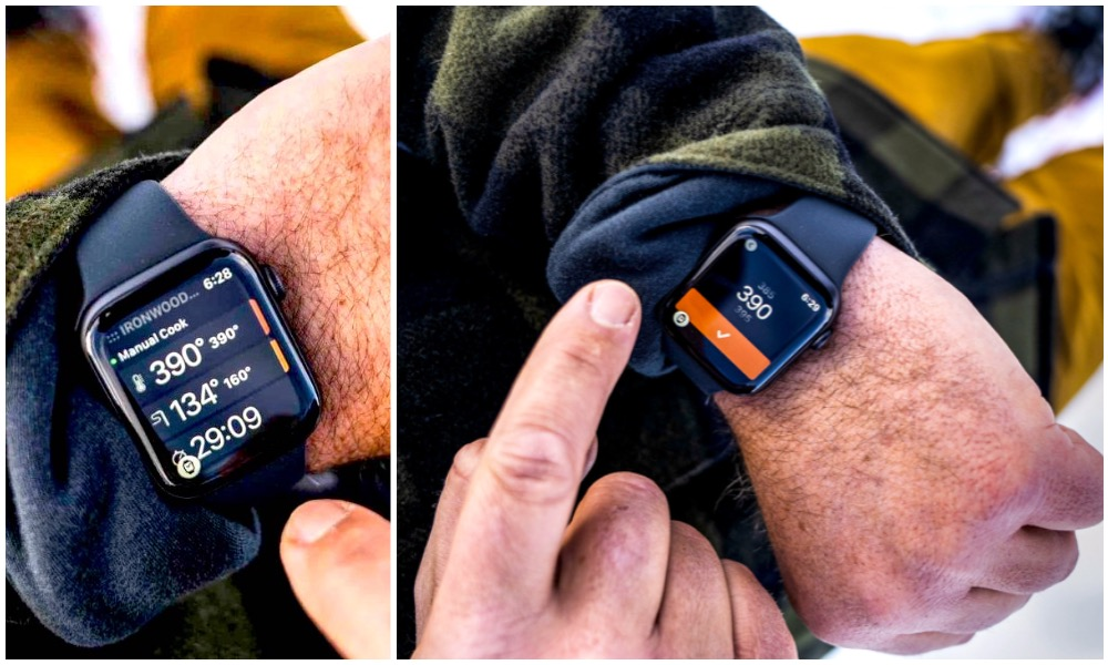 Traeger WiFIRE Apple Watch