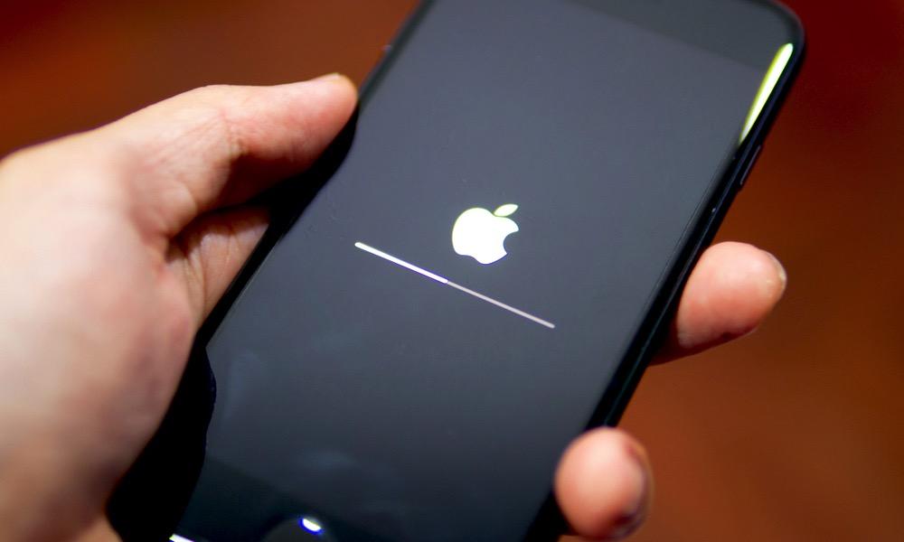 iPhone Boot Loading Screen Bar