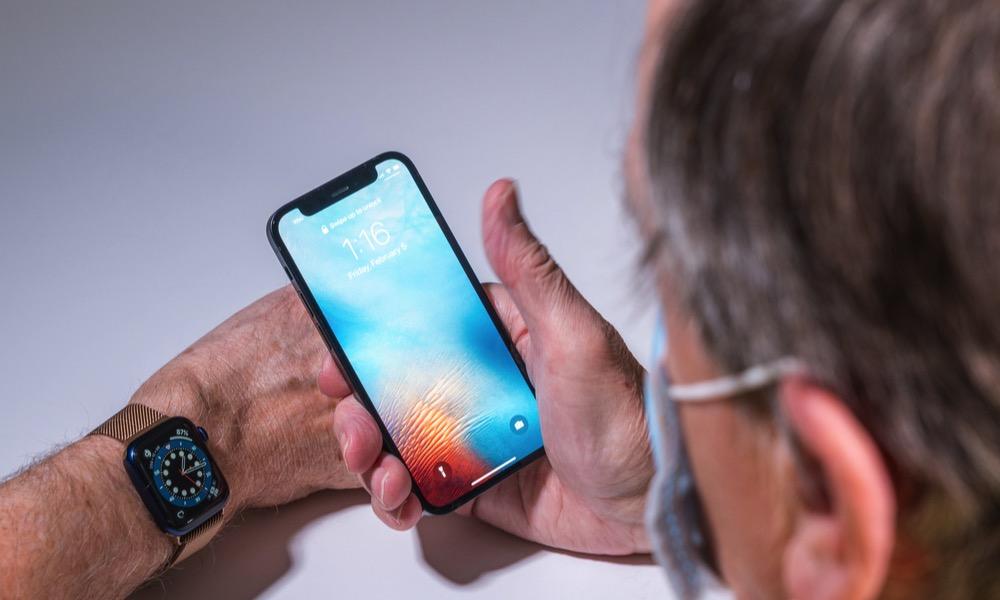 iPhone Apple Watch Mask Unlock