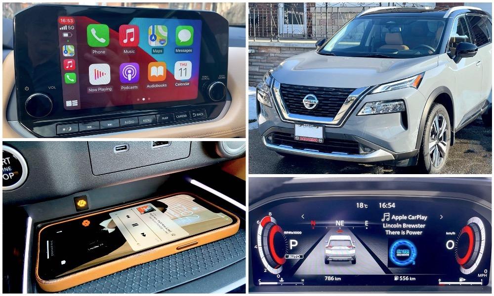 2021 Nissan Rogue Wireless Apple CarPlay