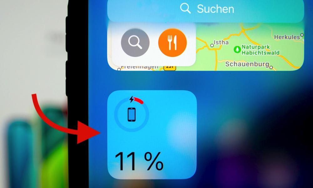 iPhone Battery Widget