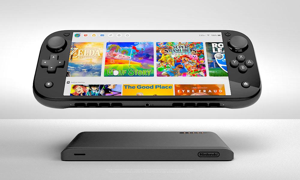 Nintendo Switch Pro Concept Image