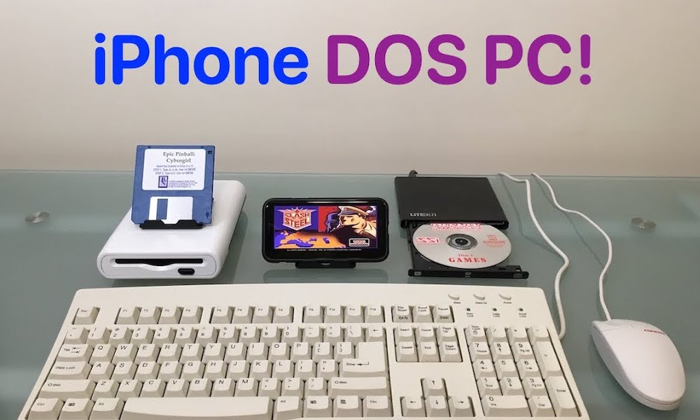 iPhone DOS PC Loading Games