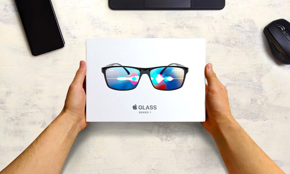Apple Glass Concept in Box