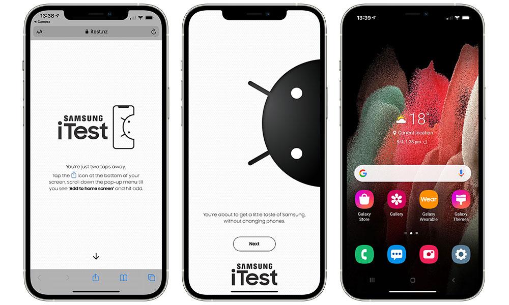 Samsung Galaxy iTest Install