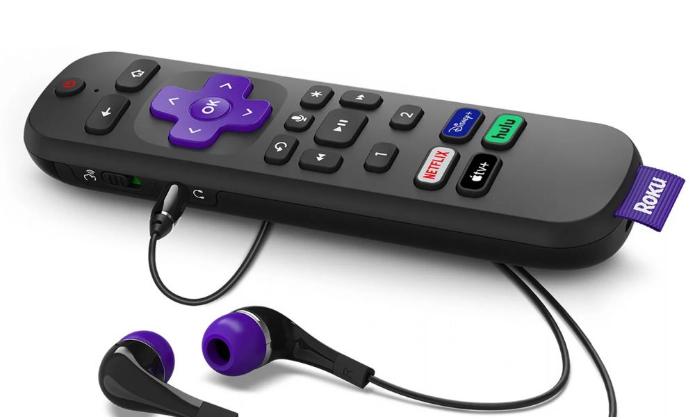 Roku Voice Remote Pro with Apple TV Button1