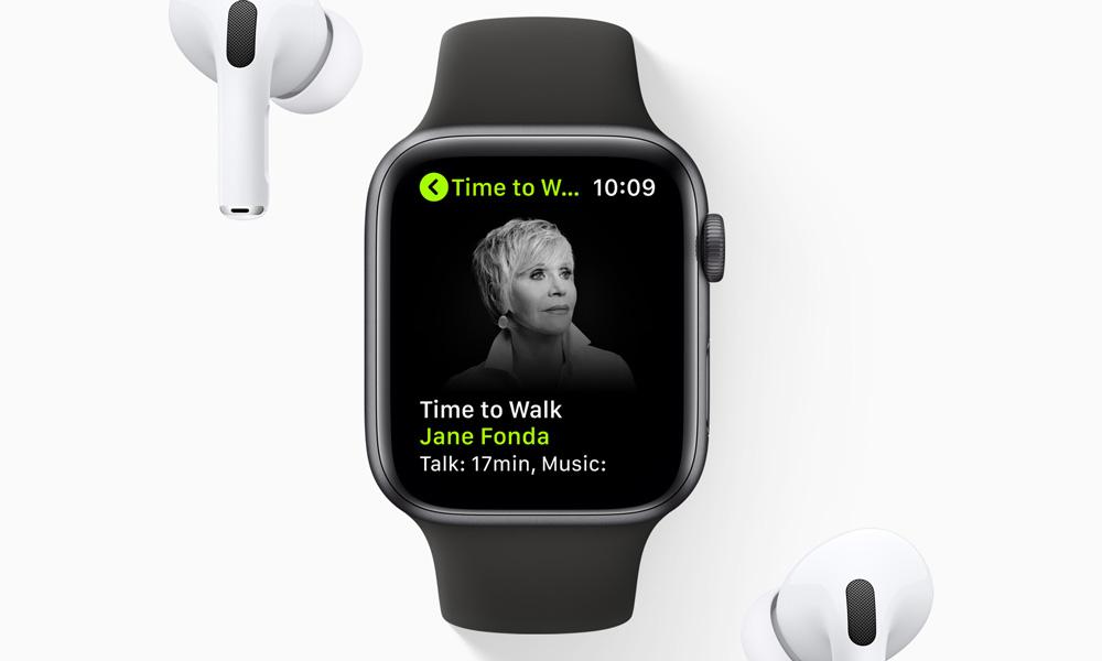 Apple Time to Walk with Jane Fonda