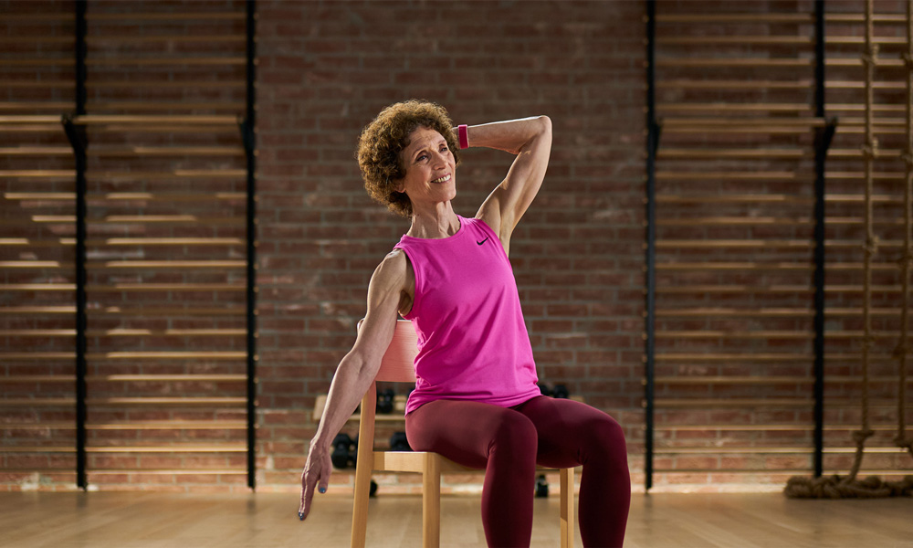 Apple Fitness Plus Workouts for Older Adults with Molly Fox
