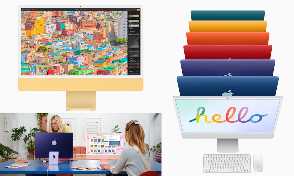 New iMac with M1 Hero