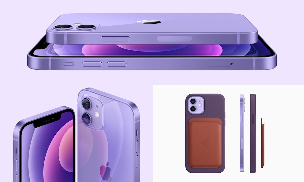Purple iPhone 12 Angles and MagSafe