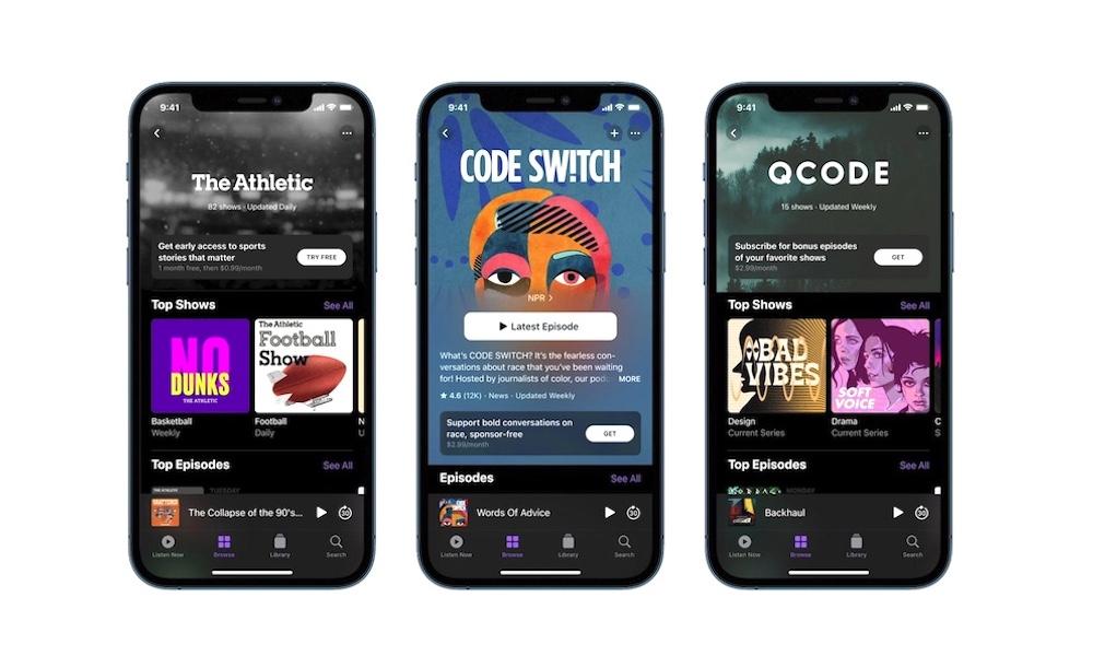 New Apple Podcast Update