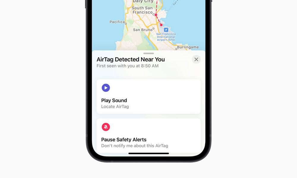 AirTag Detected Near You