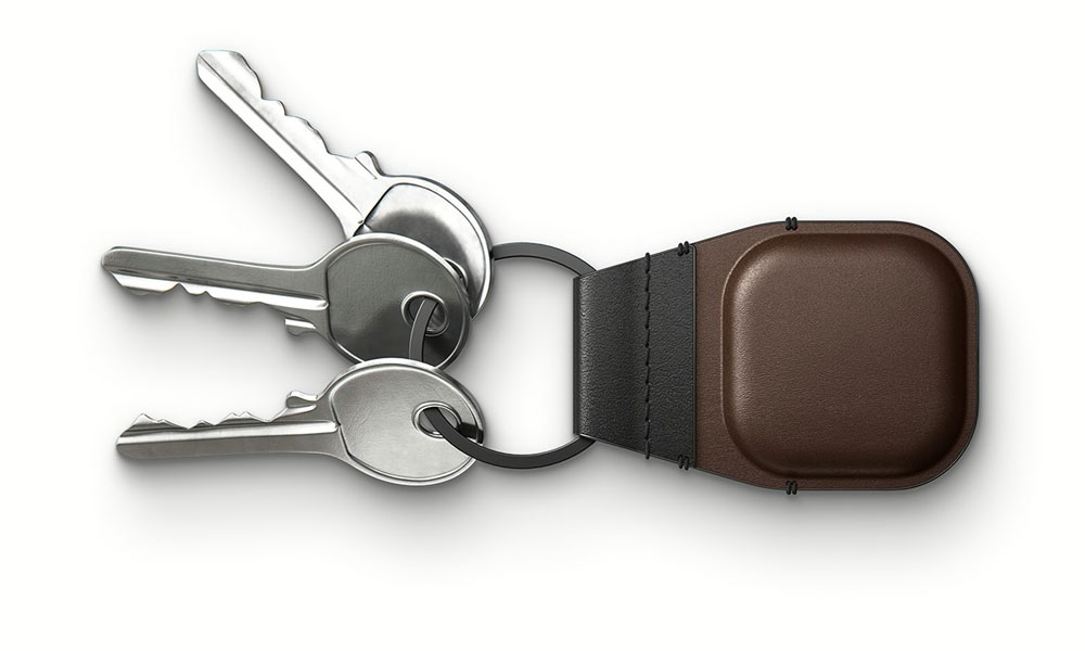 Nomad Leather Keychain for AirTag