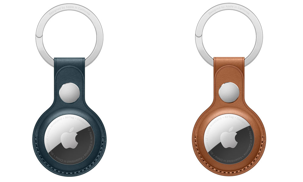 Apple AirTag Leather Keyring