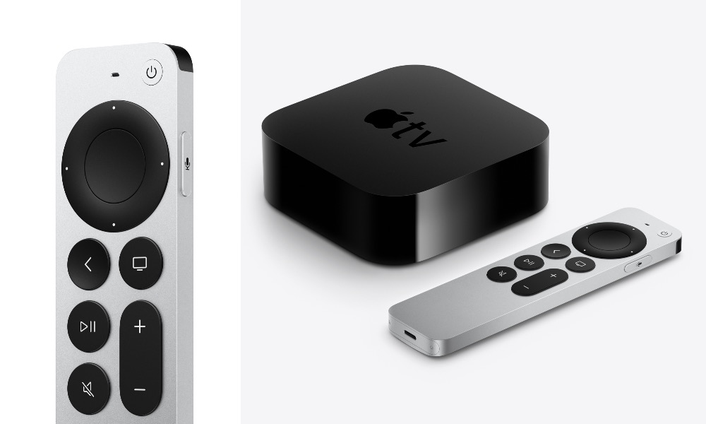 New Apple TV 4K with Siri Remote