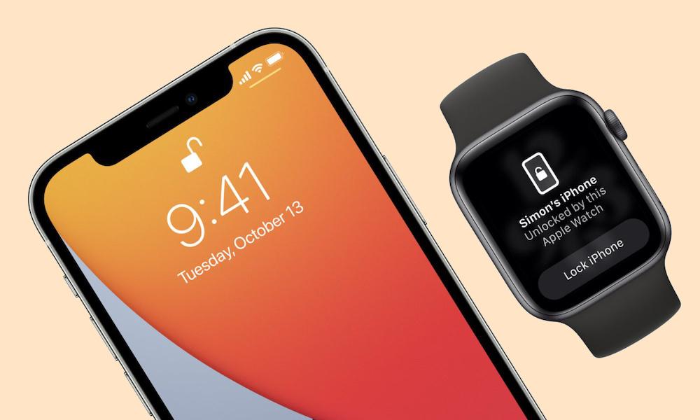 Apple Watch Unlocks iPhone