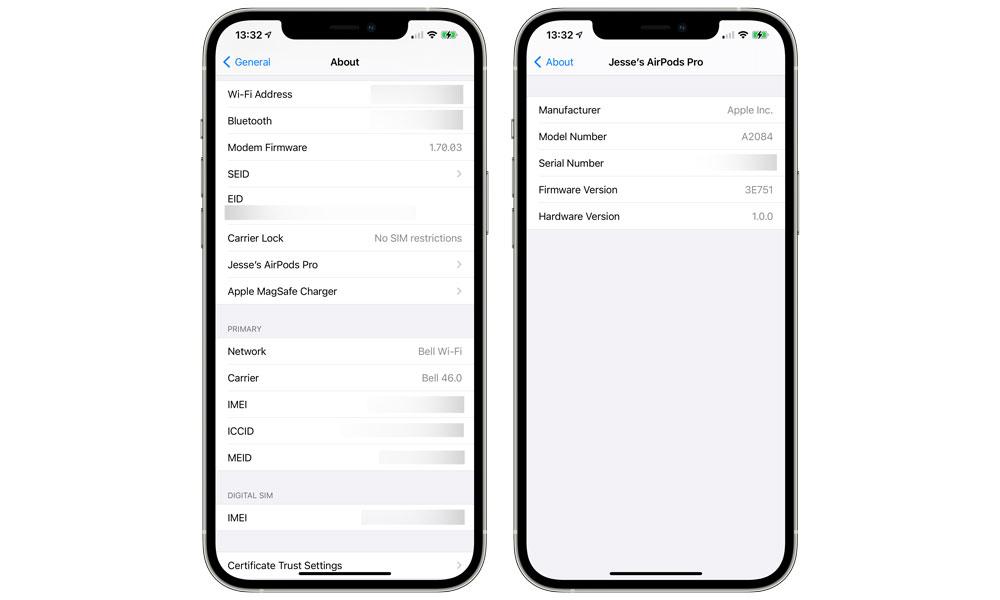 AirPods Pro 3E751 Firmware Update1