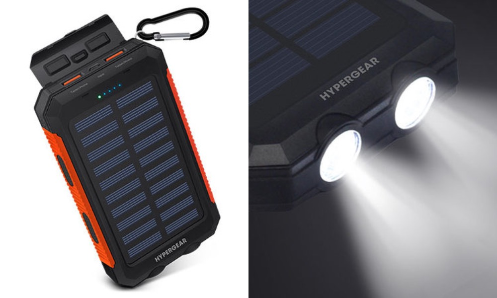 HyperGear Solar 10000mAh Power Bank