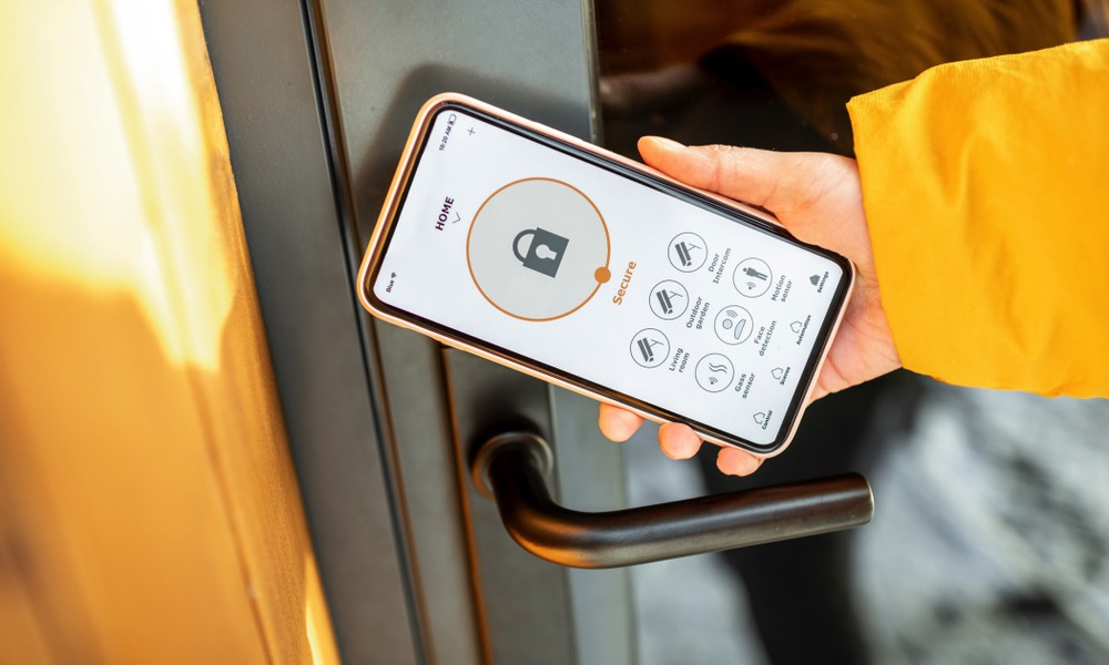Smart Home Lock with NFC