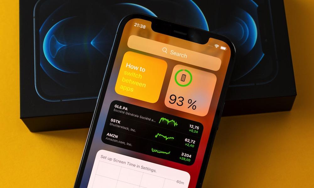 iPhone 12 Pro Max Battery Widget