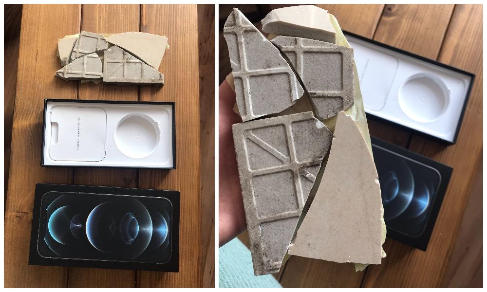 iPhone 12 Pro Max Broken Tile