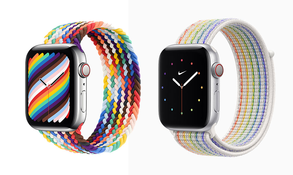 Apple Watch Pride Edition Bands 2021