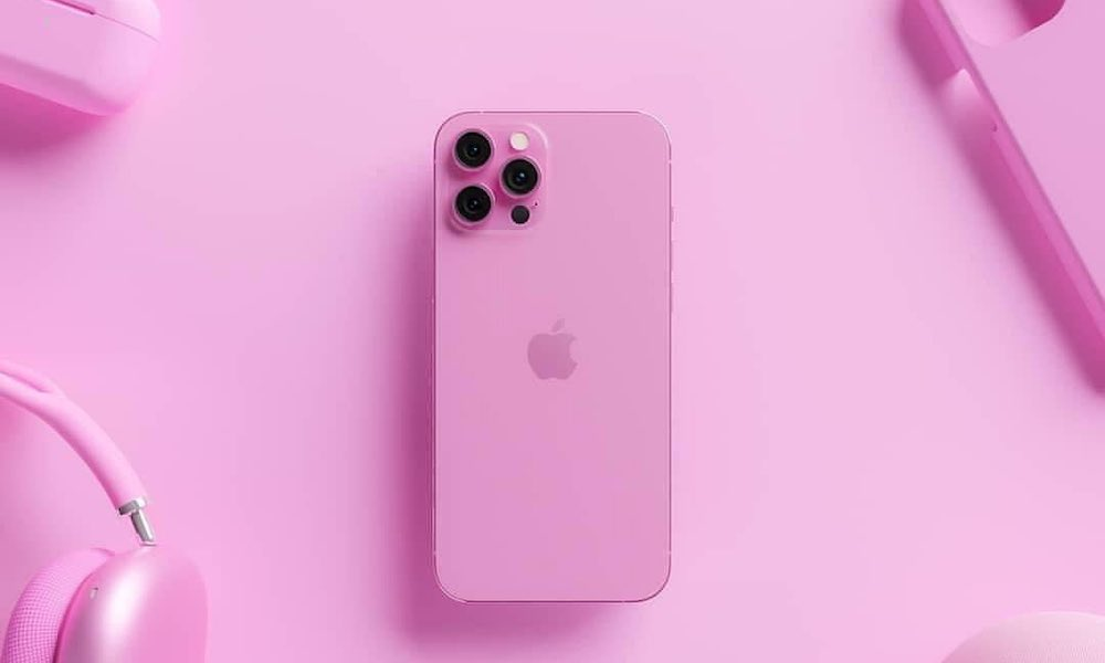 Rose Pink iPhone 13 Concept