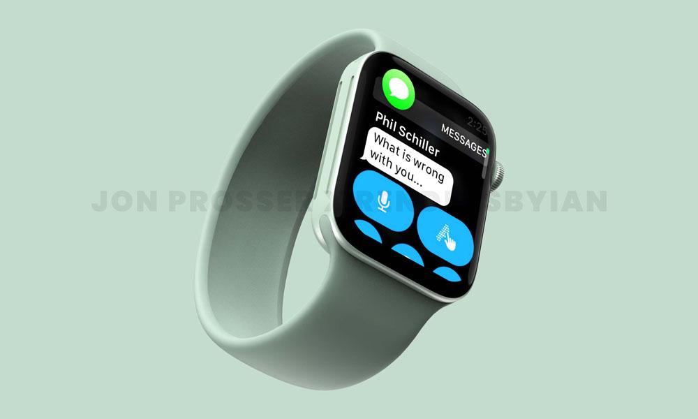 Apple Watch s7 green