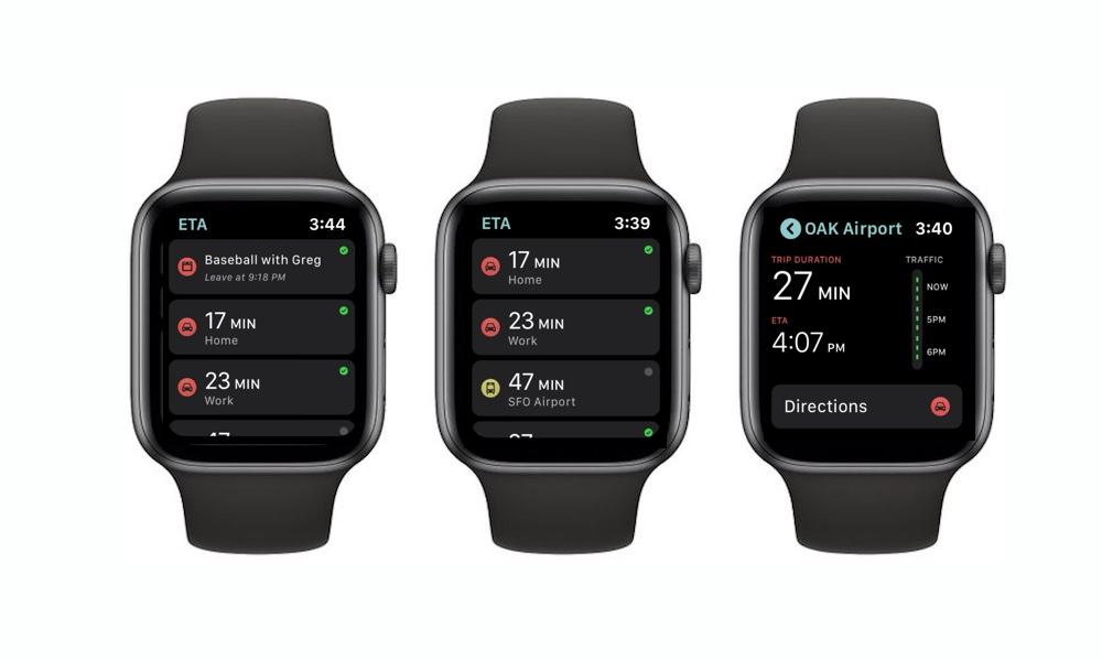 Eta Apple Watch