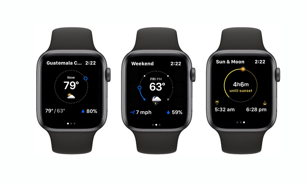 The Weather Channel Apple Watch