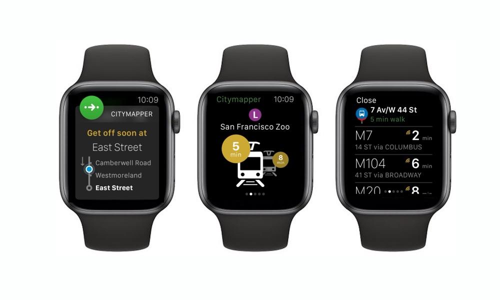 Citymapper Apple Watch