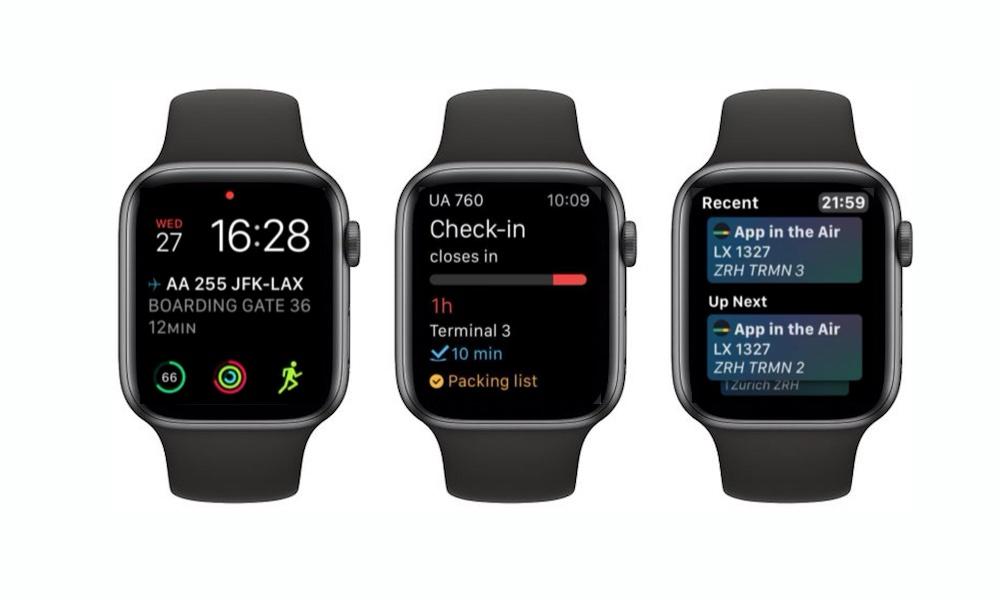 App In The Air Apple Watch