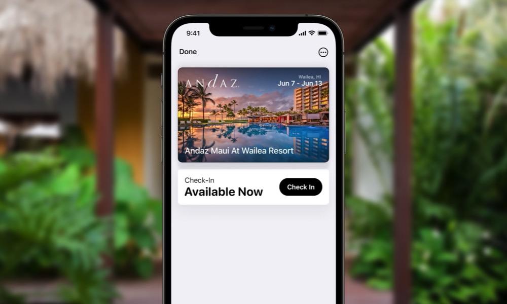 Wallet Keys Tap to Unlock iOS 15 3