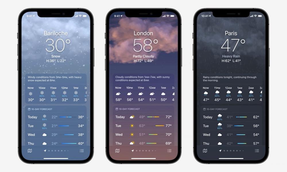 iOS 15 Weather App 2