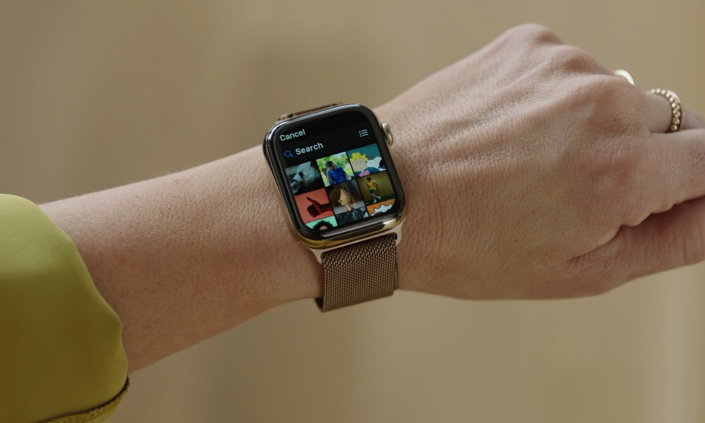 Photos App on Apple Watch with GIFs