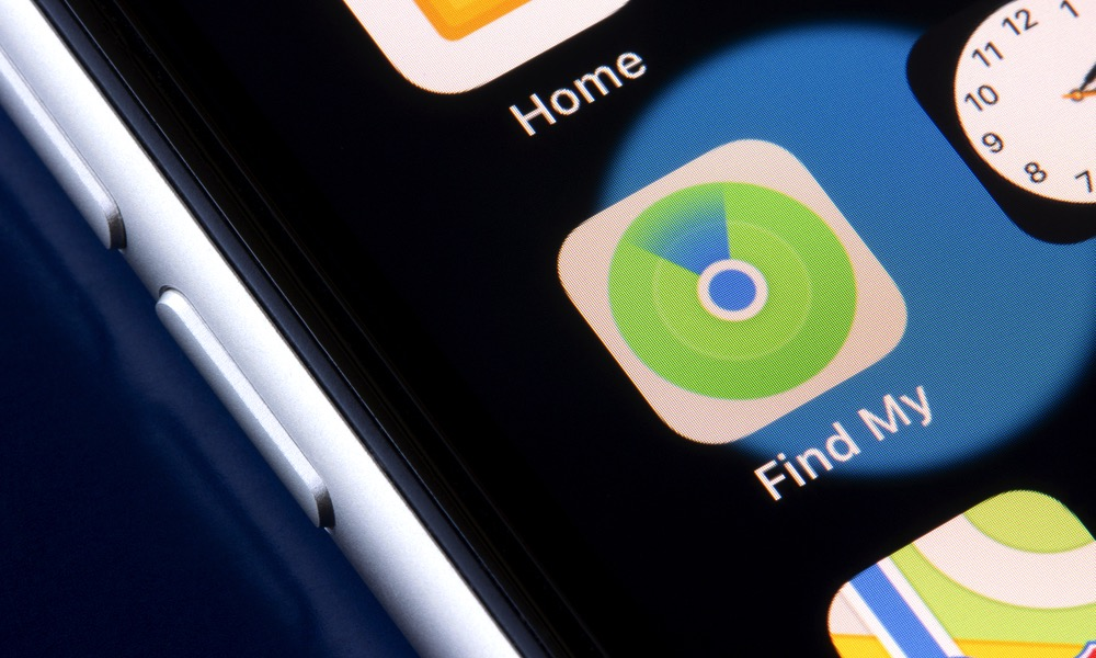 Find My App on iPhone