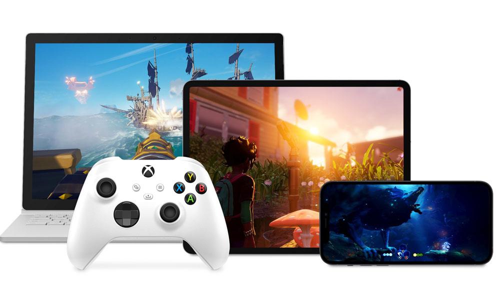 Microsoft Xbox Game Pass on Mac iPad iPhone