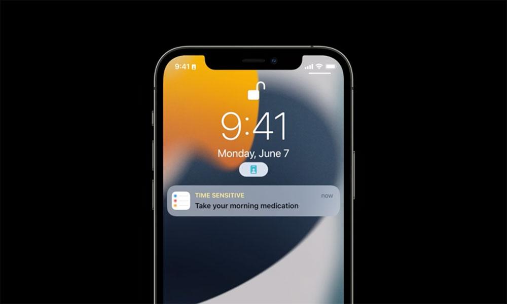 iOS 15 Time Sensitive Notifications
