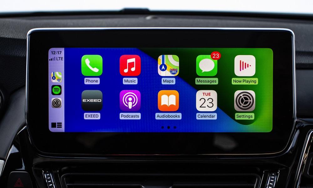 Apple CarPlay iOS 15