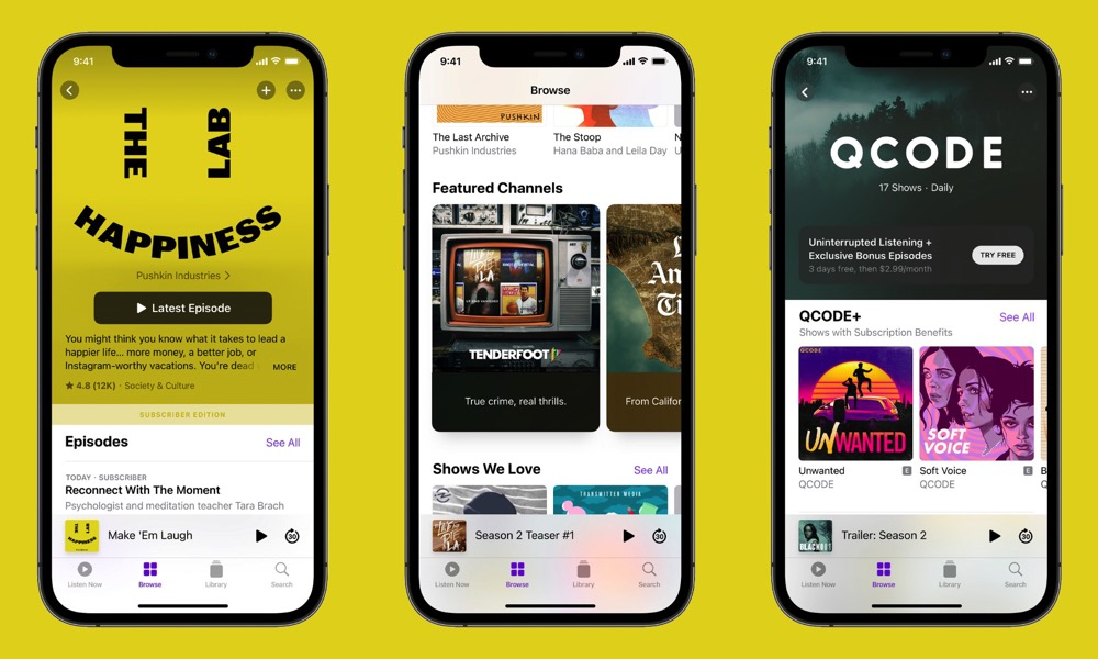 Apple Podcasts Supscriptions Marketplace