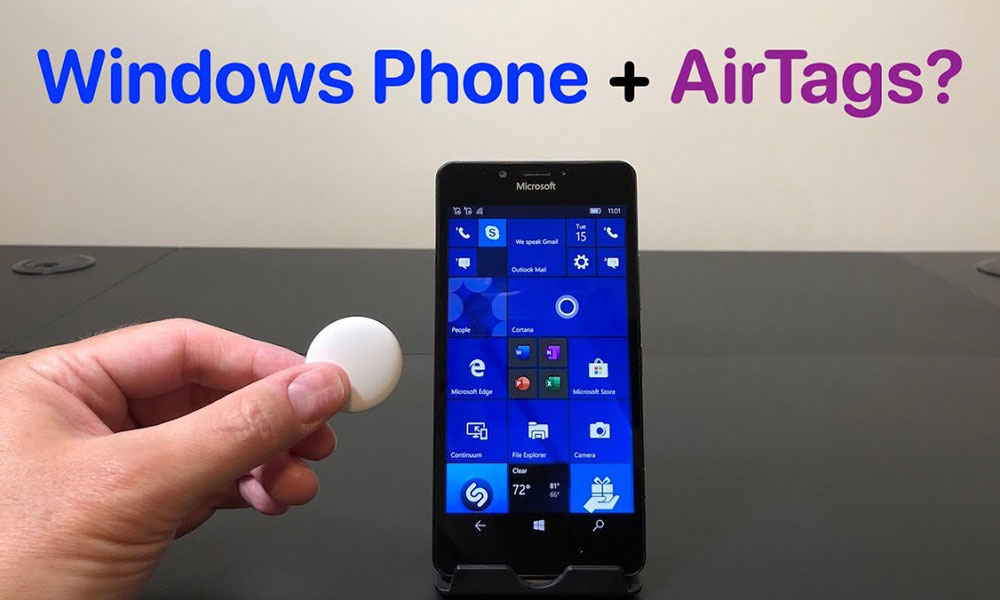 Will it Work Windows Phone and AirTags