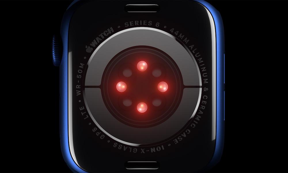 Apple Watch Series 6 Heart Rate ECG Sensor