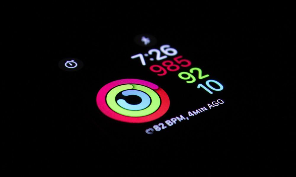 Apple Watch Activity Watch Face