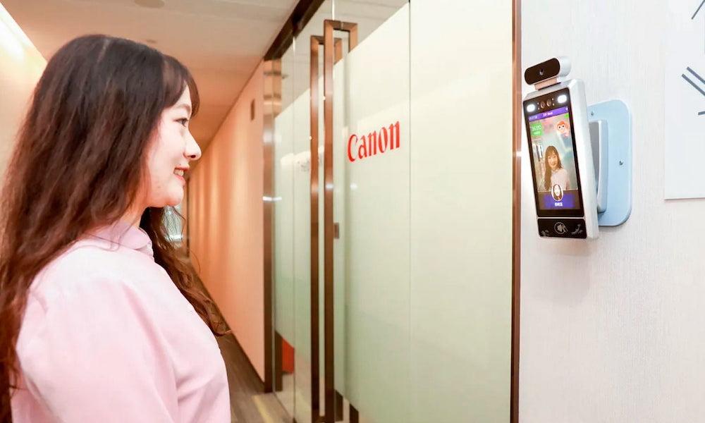 Canon AI Facial Recognition